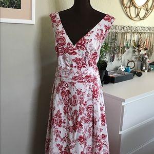 Dress Barn 18W Floral Dress